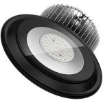Светильник светодиодный промышленный подвесной PCcooler CP-HB06-0200 LY ДCП10, 200Вт, 6000К, 17200Лм, 60/90°, IP54, IK07, черный корпус из алюминия