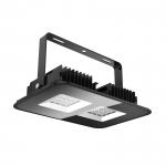 Прожектор светодиодный PCcooler CP-HB05-0100 JX HIGH BAY LAMP ДCП11, 100Вт, 6000К, 9500Лм, -°, IP65, поворотная скоба, черный корпус из алюминия, закаленное стекло
