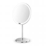 Зеркало для макияжа с подсветкой и встроенным аккумулятором Yeelight YLGJ01YL Sensor Makeup Mirror, 5W, 2000K-5000K, Ra95, USB, 2000мАч, наклон, три режима света, серебряное покрытие, защита глаз, автоматическое распознавание лица, держатель из стали