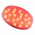Micro-Lynx LED Красный Прозрачный