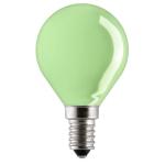 Лампа накаливания Sylvania 0008854 Ball 15W/230V/зеленый/E14