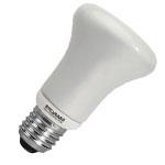 Лампа люминесцентная Sylvania 0031109 Mini-Lynx Reflector R63 9W/827 E27 SLV
