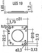 Светодиодный модуль Tridonic 89601808 STARK SLE PURE G3 19 3000 830 CLA W/O C