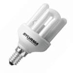 Лампа компактная люминесцентная Sylvania 0031144 Mini-Lynx Fast-Start 8W/840/E14 SLV