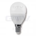 Лампа светодиодная GTV LD-SMG45B-70, E14, SMD2835, G45, 3000K, 8W, 160град, 640 lm