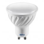 Лампа светодиодная GTV LD-PC7510-64, GU10, SMD2835, 6400K, 7,5W, AC220-240V, 50-60Hz, 120град, 570lm