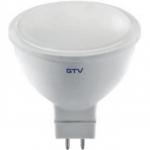 Лампа светодиодная GTV LD-SM8016-30-E MR16, 8W, 560лм, AC175-250V, 50/60 Hz, PF>0,5, RA>80, 120°, 3000K, 70 mA