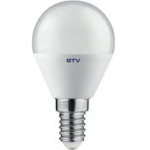 Лампа светодиодная GTV LD-SMGB45B-80-E, B45B, 8W, 560lm, E14, 3000K, 160°, 70mA
