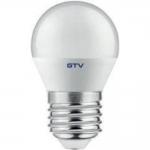 Лампа светодиодная GTV LD-SMGB45C-80-E, B45C, 8W, 560lm, E27, 3000K, 160°, 70mA