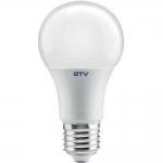 Лампа светодиодная GTV LD-PC2A60-12-E, E27, A60, 3000K, 12W, AC175-250V, 220°, 960lm, 104mA