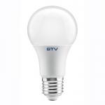 Лампа светодиодная GTV LD-3SCTA60-10W A60 ТРИ ЦВЕТА, 3000K/4000K/6400K, E27, 10W, AC220-240V, 220°, 840lm, 87mA