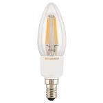 Лампа светодиодная Sylvania 0027292 ToLEDo RT Dim Candle 4.5W 470LM E14 SL, диммируемая