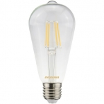 Лампа светодиодная Sylvania 0027175 ToLEDo RT ST64 CL 470lm E27 SL