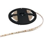 Светодиодная лента GTV LD-2835-24V-600-20-CB LED FLASH 24 V, SMD 2835, 120LED/м, 3200K, 15.6W/м, 1350lm/м, IP20, 10мм, 1м (катушка 5м), теплый белый