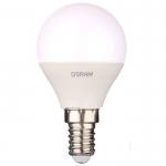 Лампа светодиодная OSRAM 4058075056923 LEDSCLP40 5,5W/840 230VFR E14, мини-шар, нейтральный белый свет, матовая колба