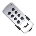 Пульт дистанционного управления Uniel 03624 UCH-P003-G3-450W-30M, 3 канала, с диммером