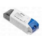 Трансформатор LED GTV LD-ZAS12W-30N LED 12V, 12W, 220-240, IP20