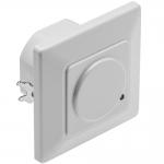 Датчик движения микроволновый GTV AE-CM4000-00 CM-4,MAX.1200W, IP20, 180°, радиус 5-15м ±1-1,8м, работает с LED, белый корпус