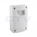 Датчик освещенности сумеречный GTV CZ-CZ2000-00 CZ-2,max.1500W, IP44, AC220-240V, 50-60Hz,6A, работает с LED, белый корпус