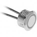 Выключатель сенсорный с регулируемой яркостью GTV AE-WBEZD-NB, 12В, макс. 20Вт, диммирумый, кабель 1.5м, пластик, хром