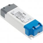 Трансформатор светодиодный GTV LD-ZASPRO12W-30 LED PRO, 12V, 12W, 220-240, IP20, 120x42x27mm